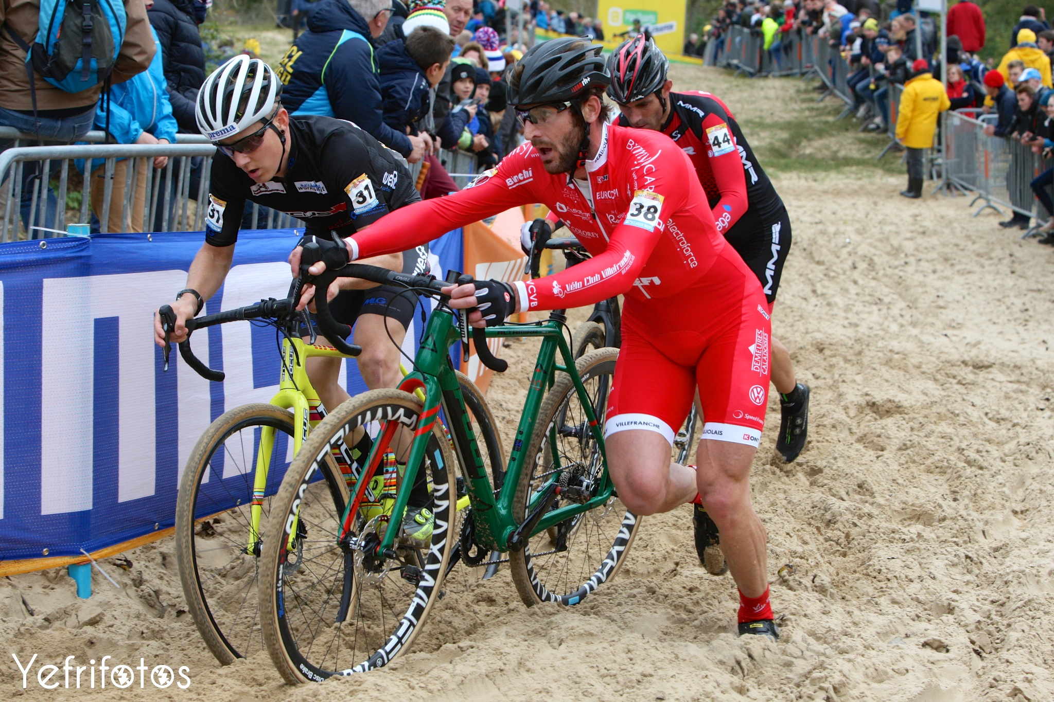 Koksijde - UCI Cyclocross World Cup - Alois Falenta
