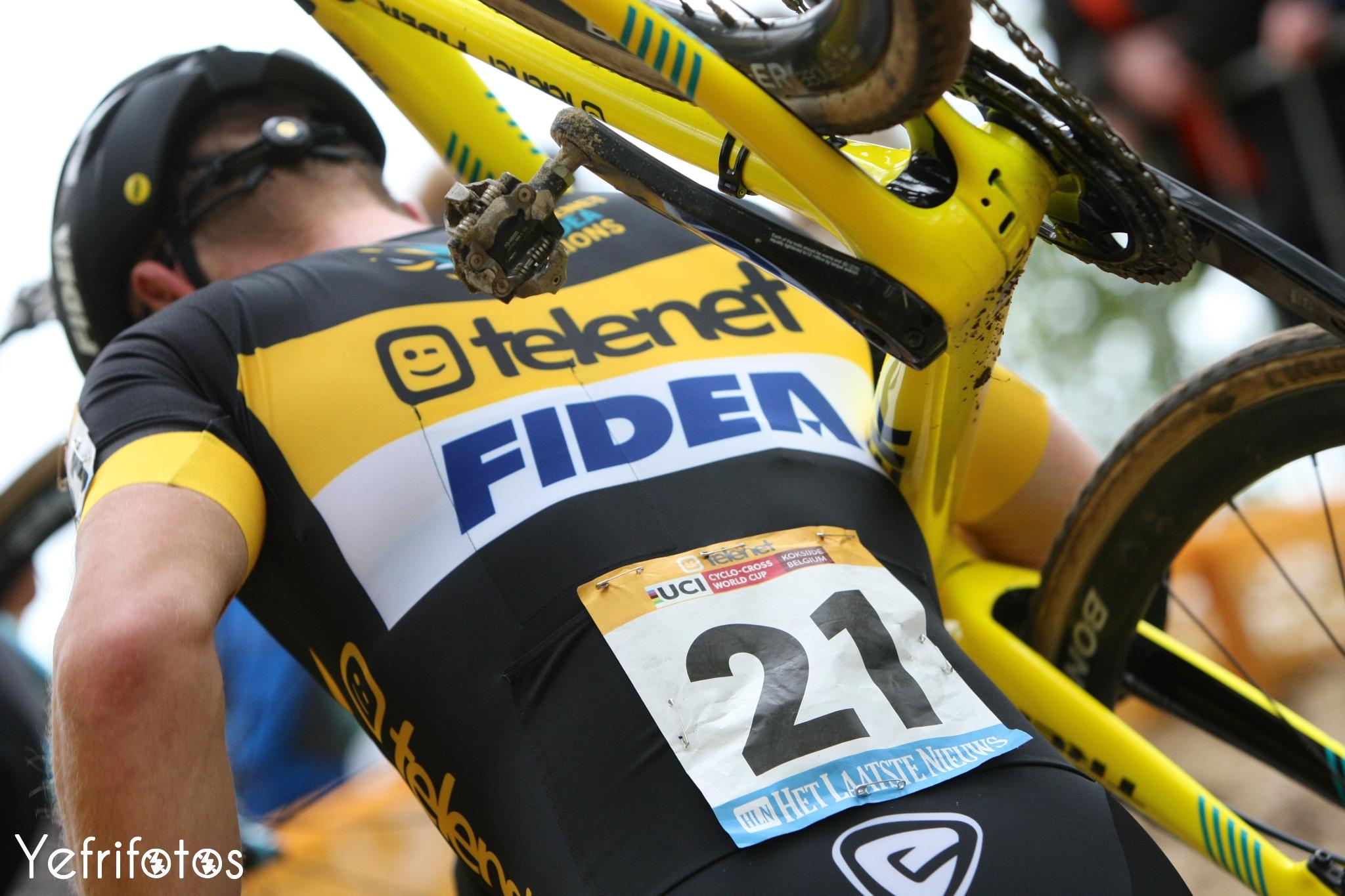 Koksijde - UCI Cyclocross World Cup - Corné van Kessel