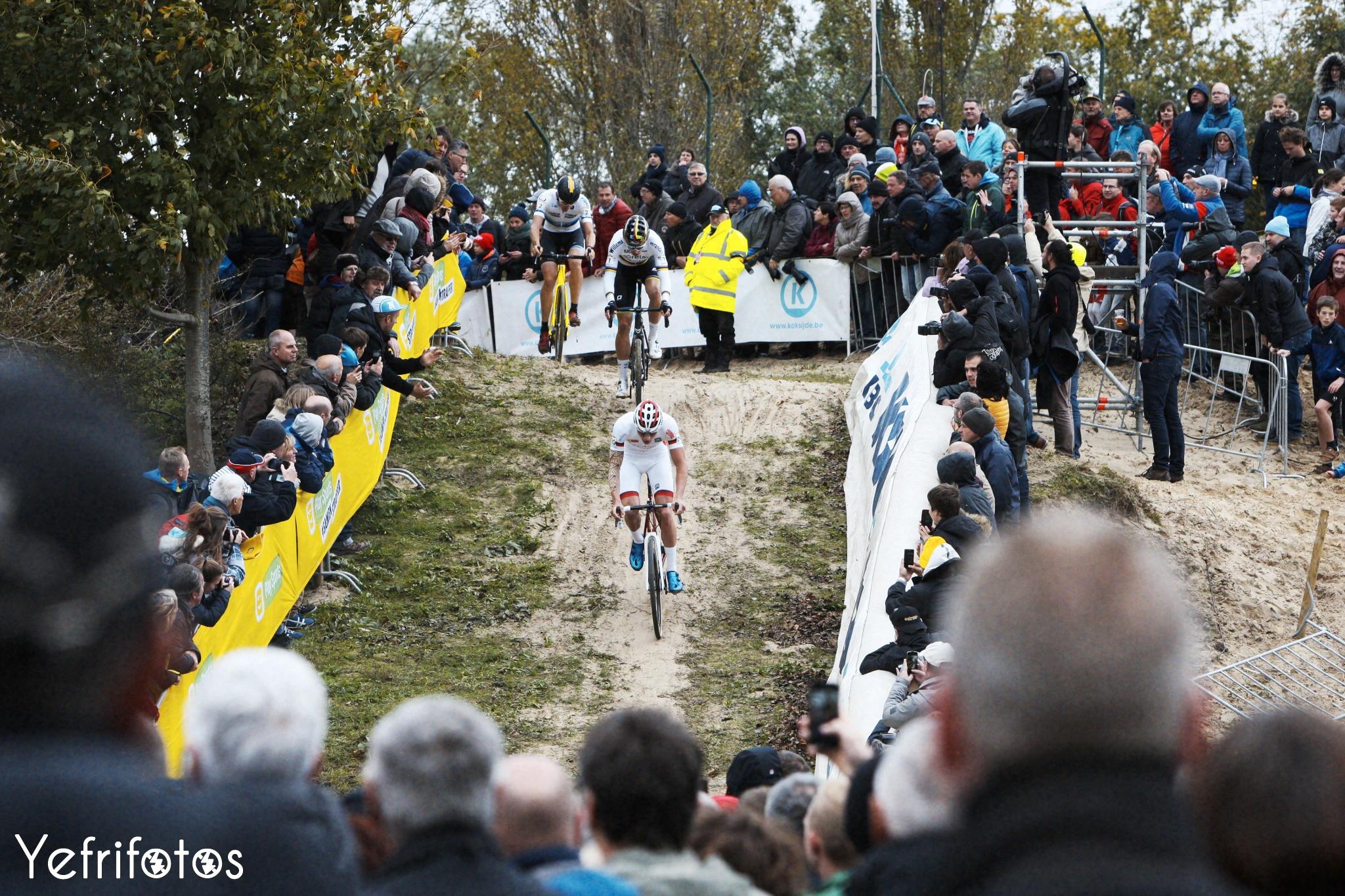 Koksijde - UCI Cyclocross World Cup - Mathieu van der Poel - Foule