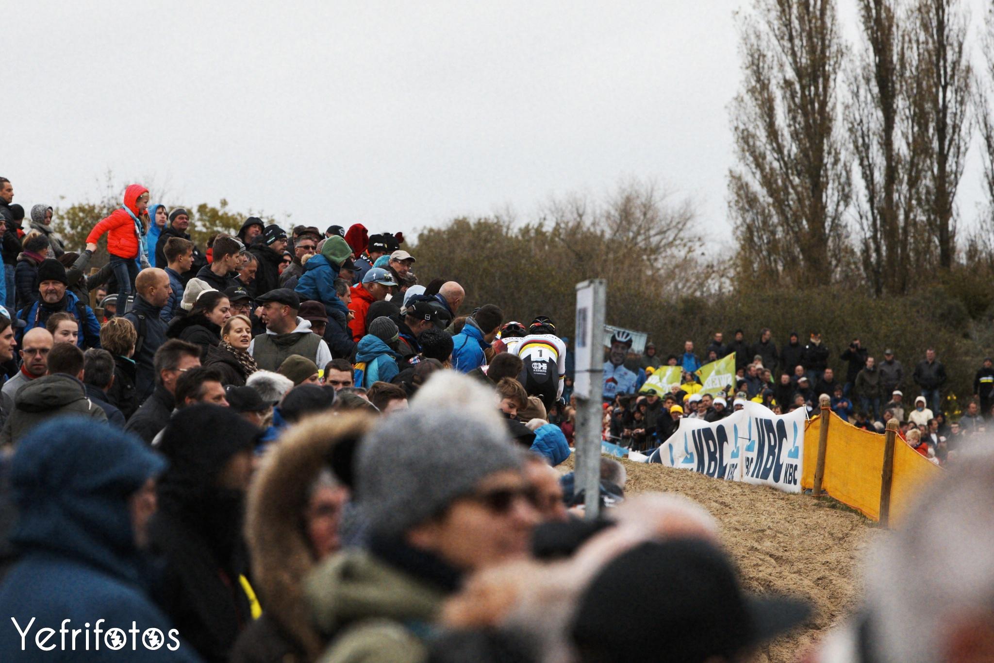 Koksijde - UCI Cyclocross World Cup - Wout van Aert - Foule