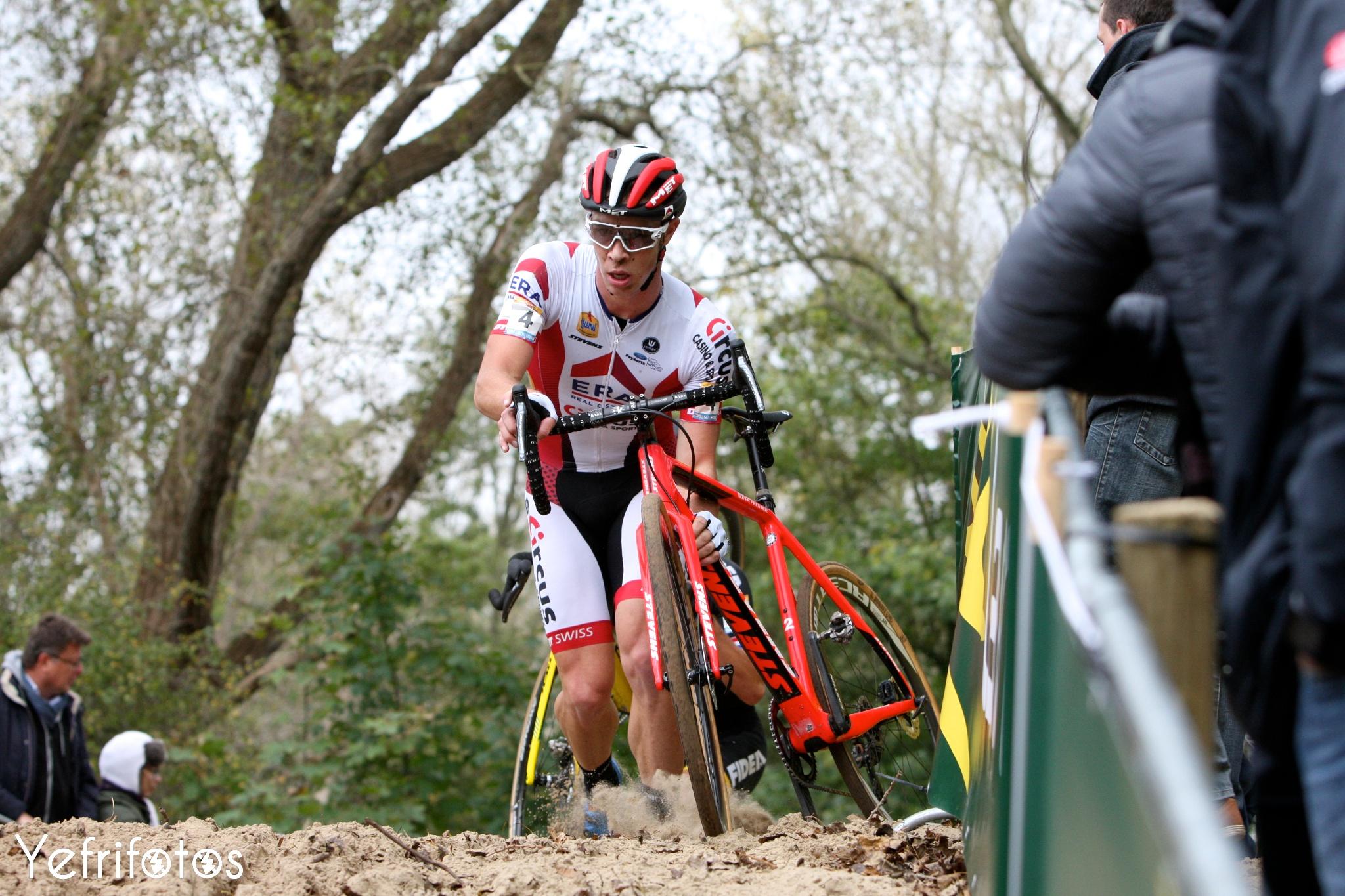 Koksijde - UCI Cyclocross World Cup - Laurens Sweeck