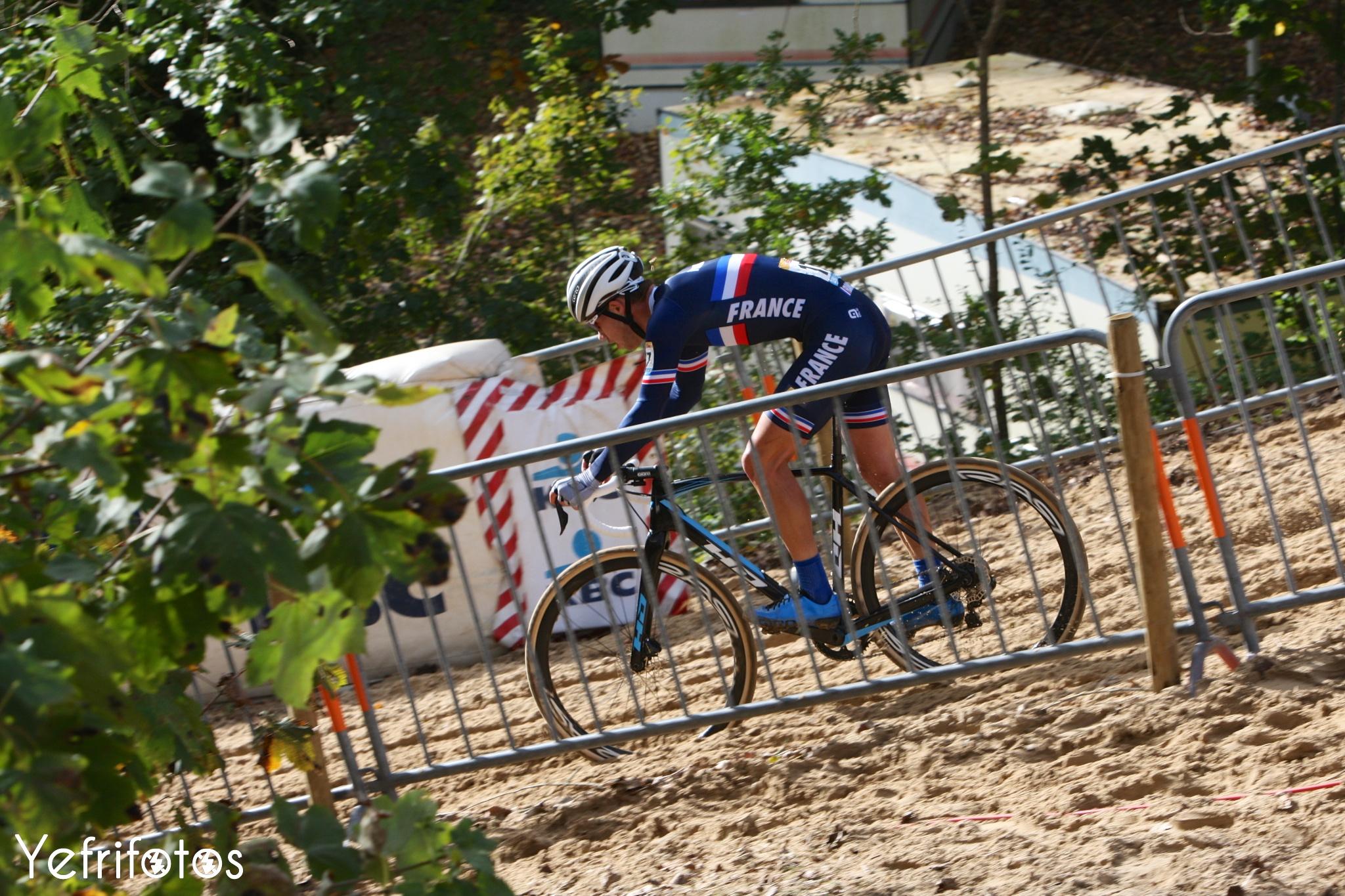 Koksijde - UCI Cyclocross World Cup - Lucas Dubau