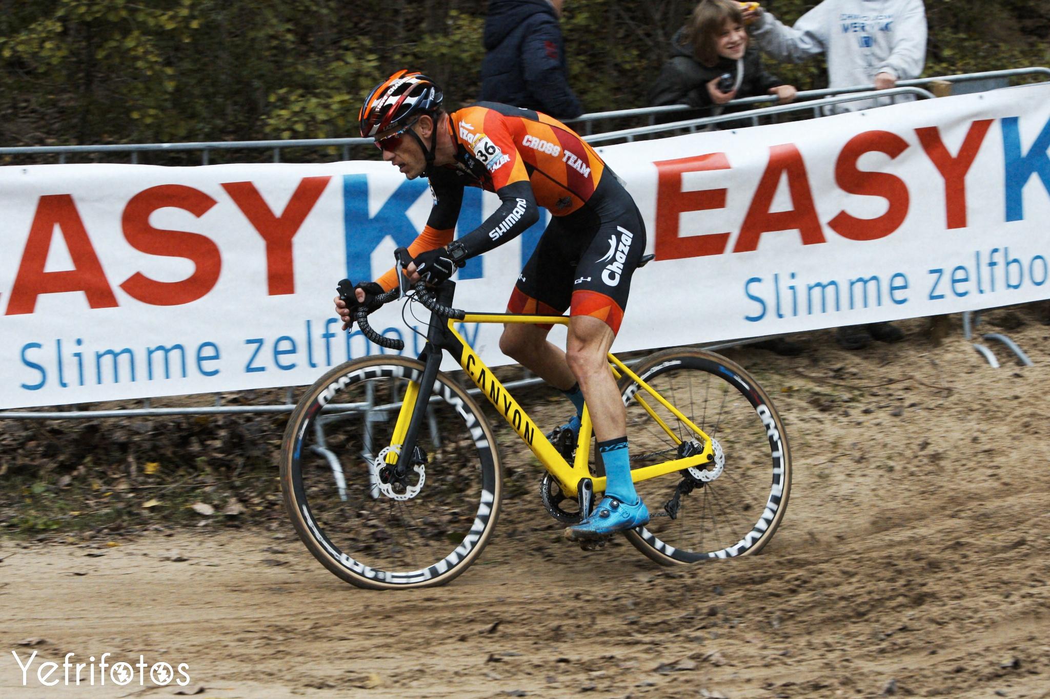 Koksijde - UCI Cyclocross World Cup - Steve Chainel