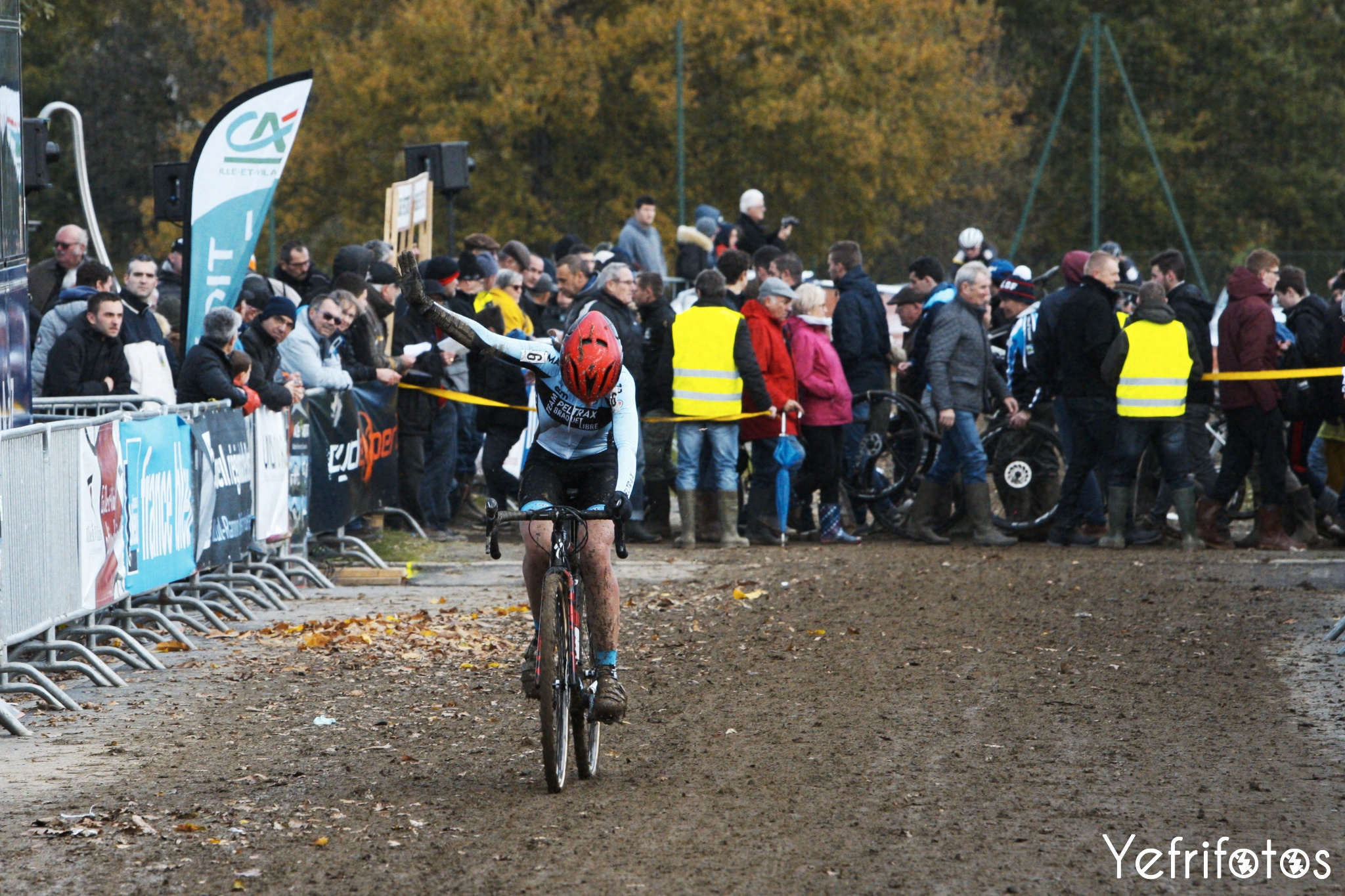 Fanny Stumpf Team Peltrax Braquet Libre Cyclocross