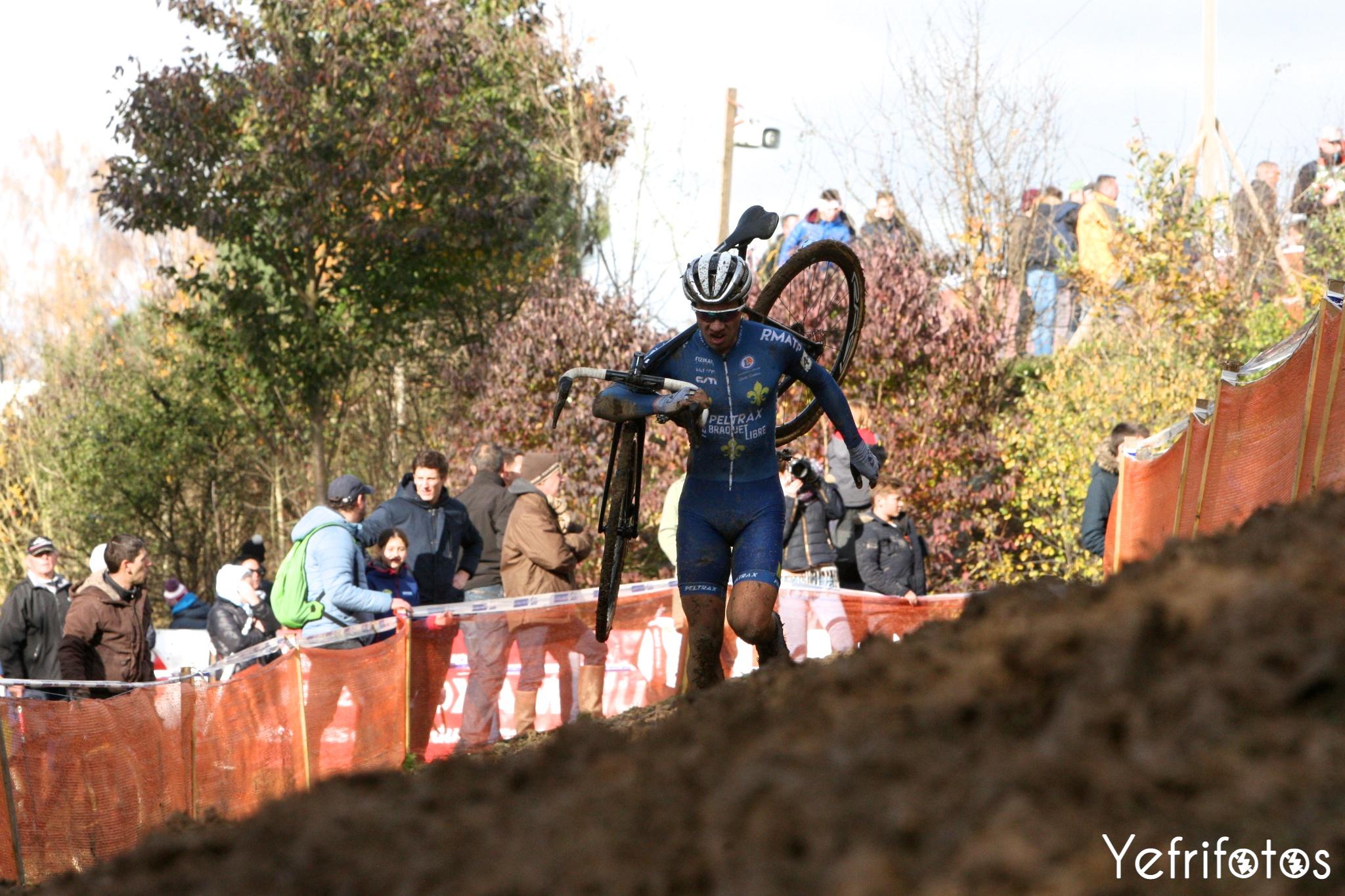 Lucas Dubau Team Peltrax Braquet Libre Cyclocross La Mézière