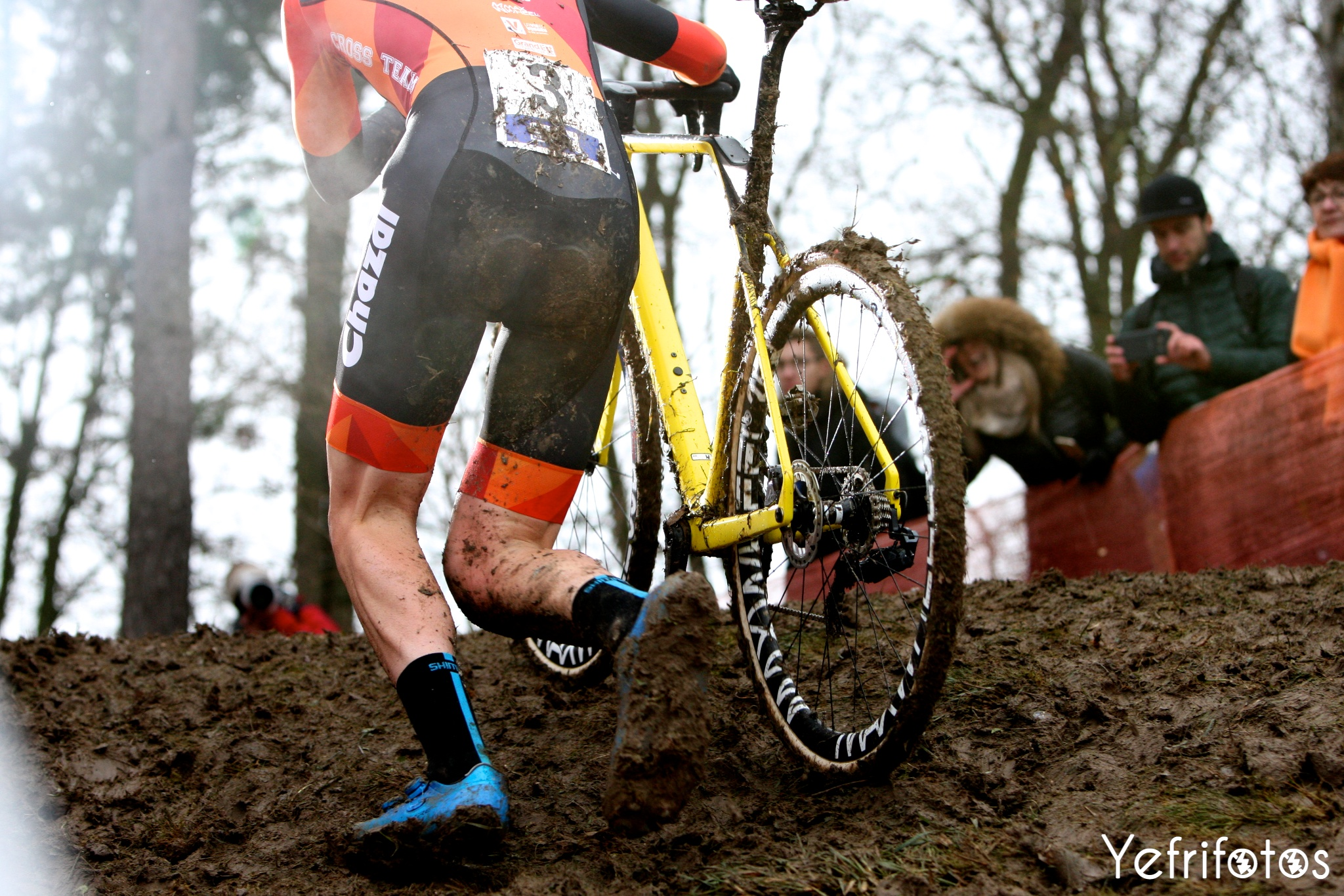 Antoine Benoist - Team Chazal Canyon - Coupe de France Cyclocross Jablines