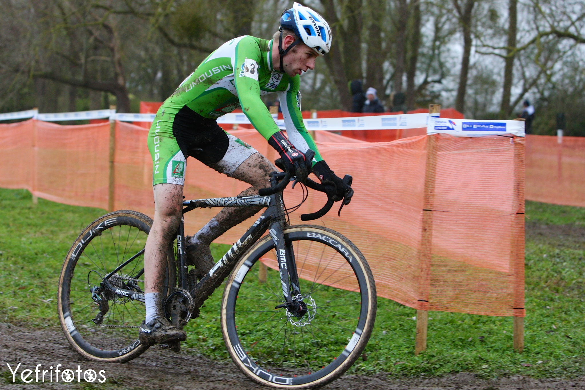 Benjamin Rivet - Btwin - Coupe de France Cyclocross Jablines