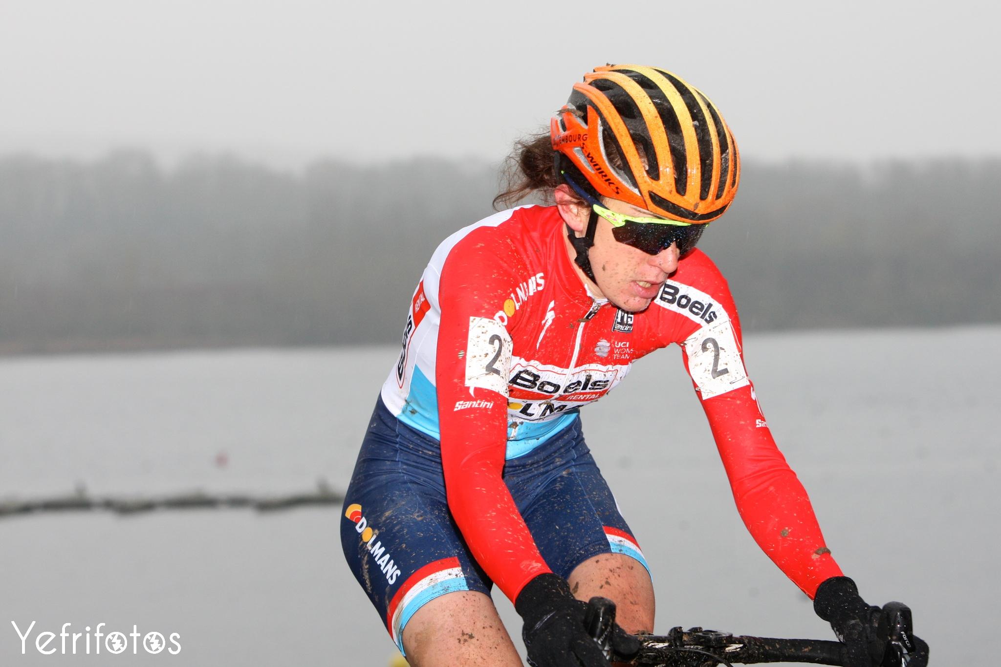 Christine Majerus - Boels Dolmans - Coupe de France Cyclocross Jablines