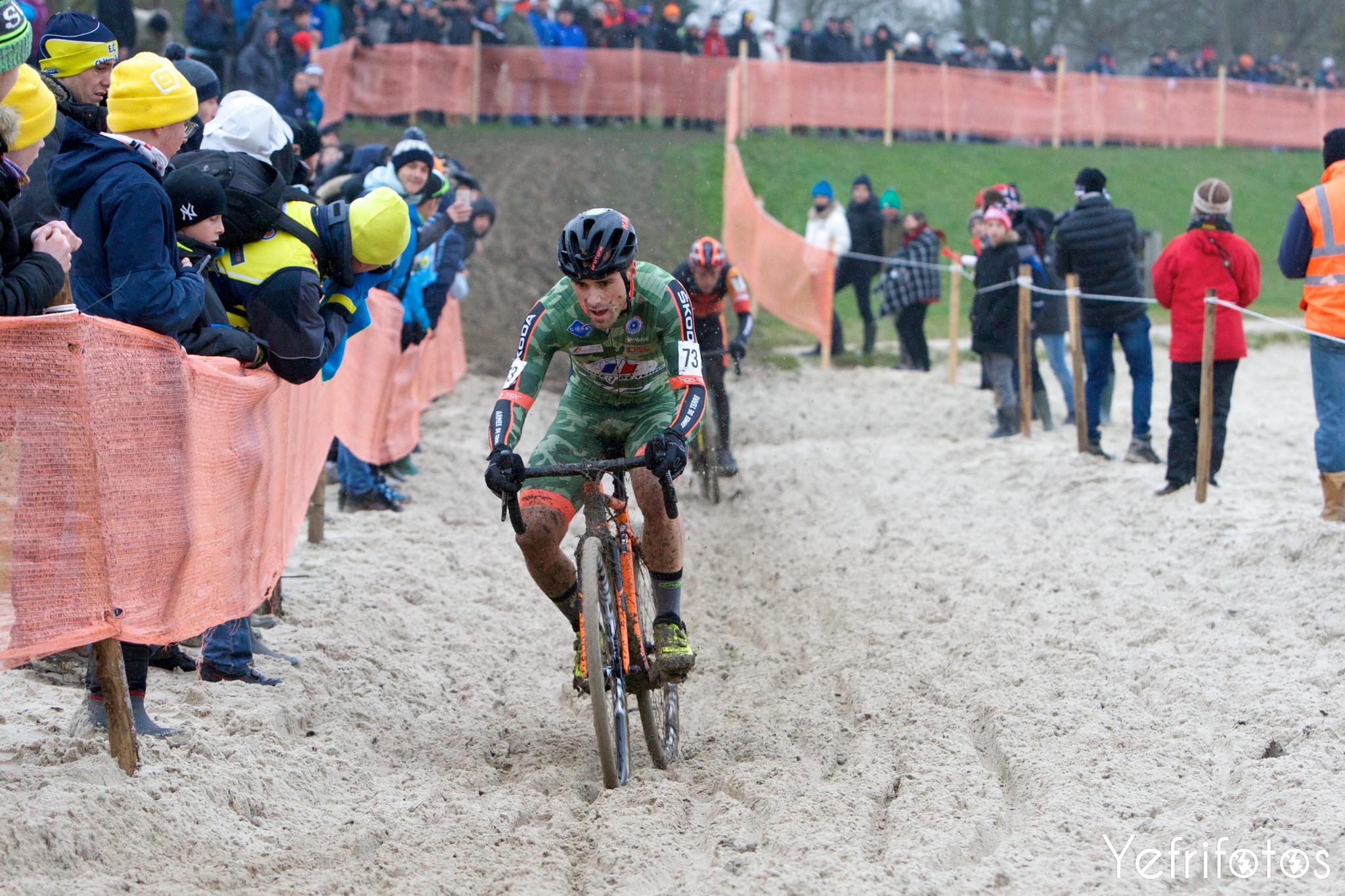Fabien Canal - Armée de Terre - Coupe de France Cyclocross Jablines