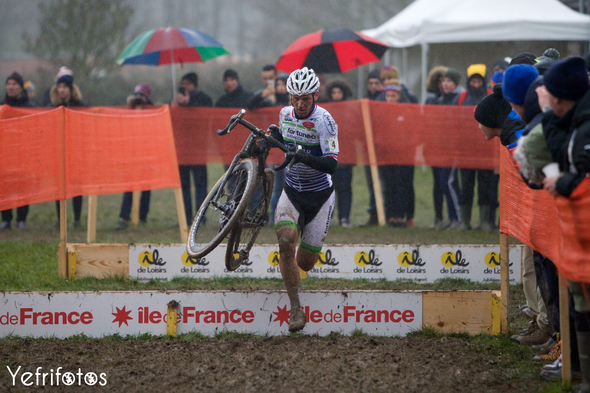 Francis Mourey - Team Fortuneo Oscaro - Coupe de France Cyclocross Jablines