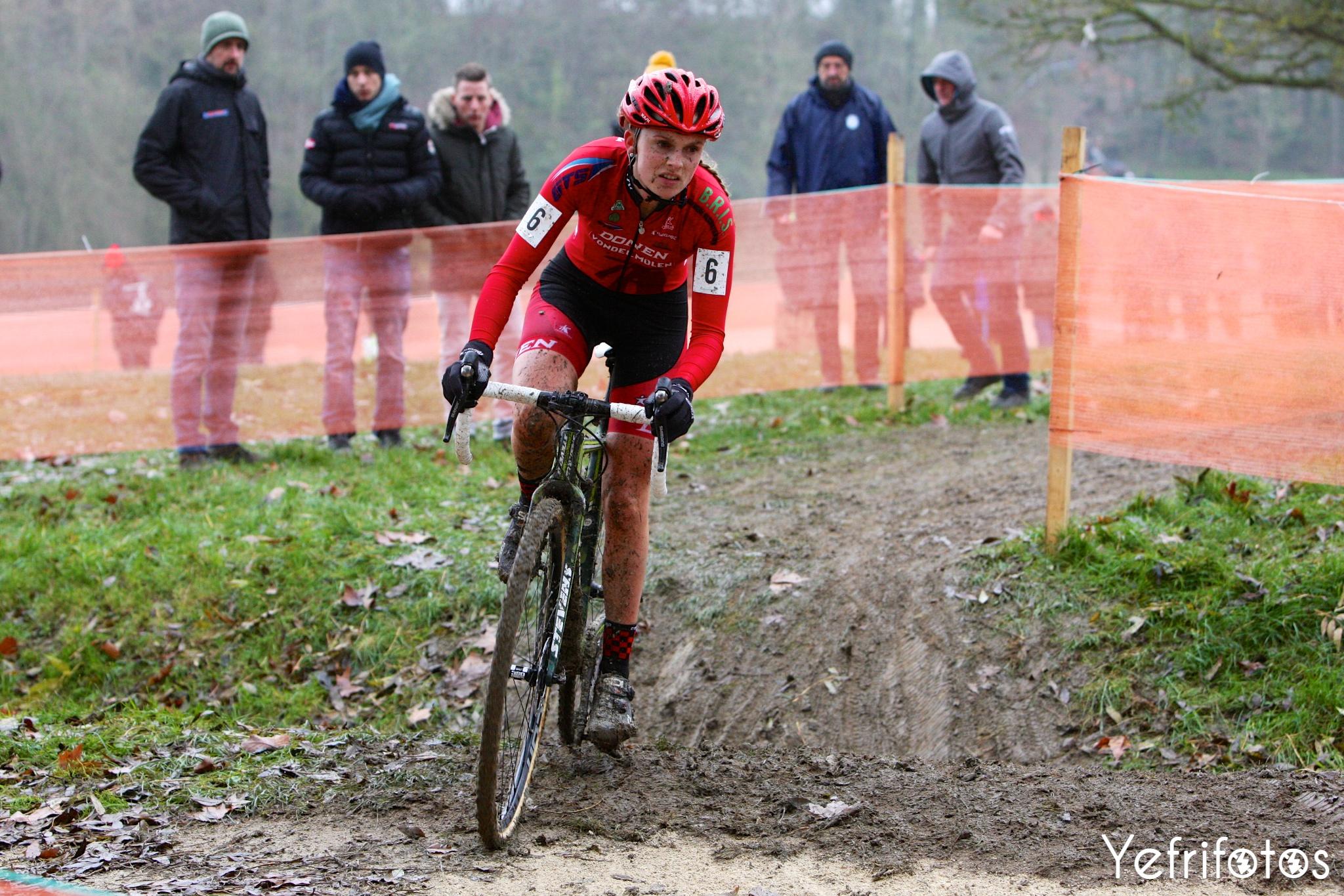 Karen Verhestraeten - Donen Vondelmolen CX Team - Coupe de France Cyclocross Jablines