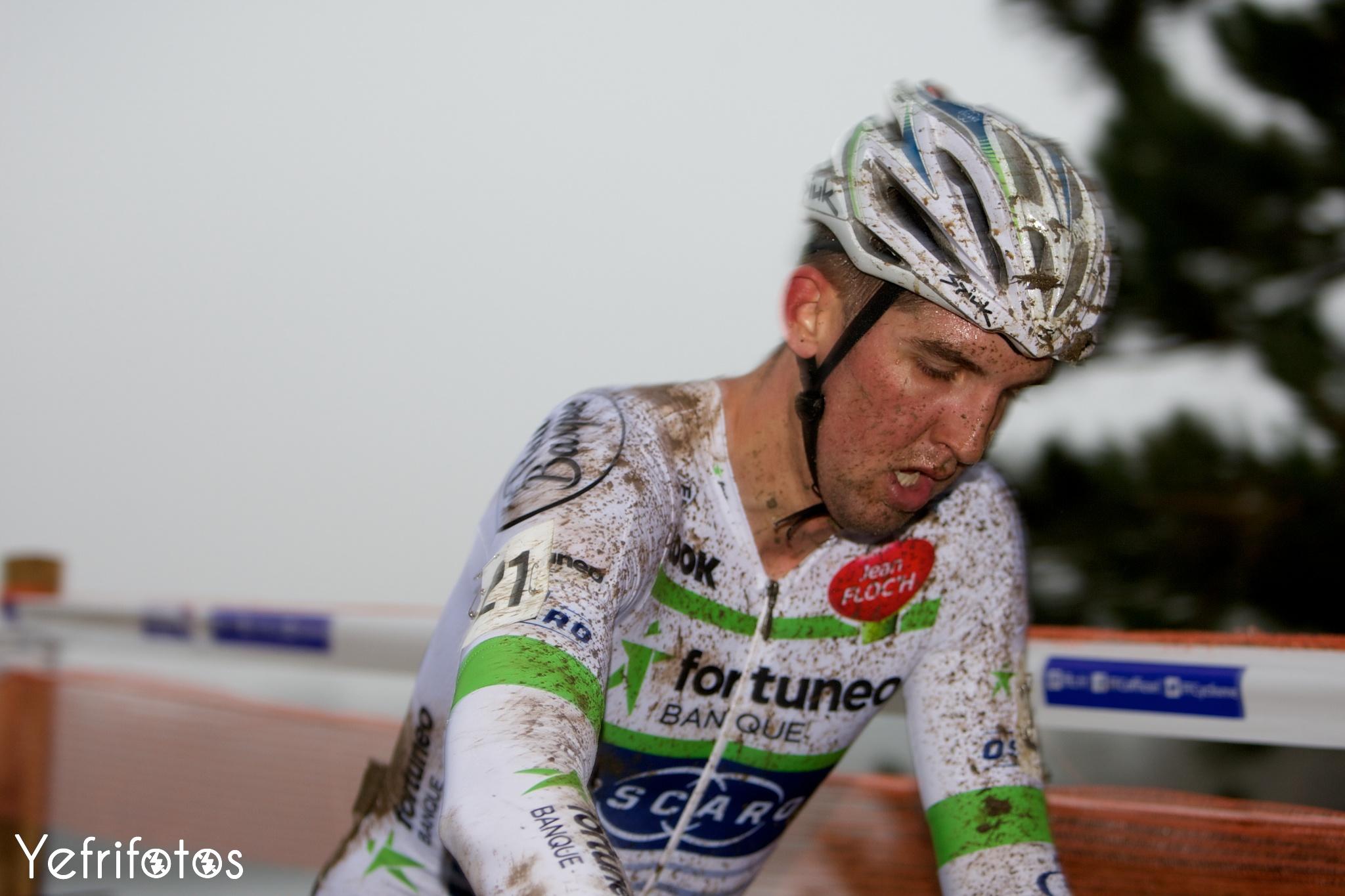 Kevin Ledanois - Team Fortuneo Oscaro - Coupe de France Cyclocross Jablines