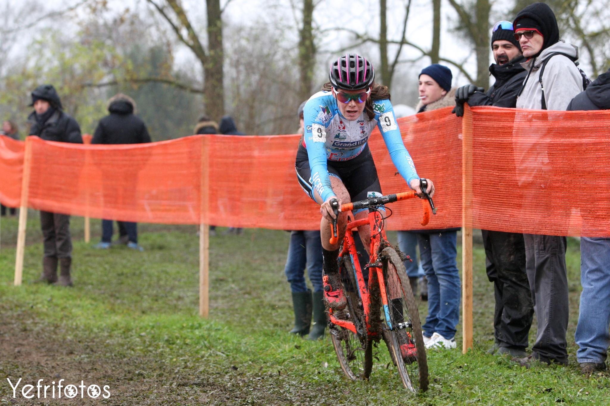 Marion Norbert Riberolle - Coupe de France Cyclocross Jablines