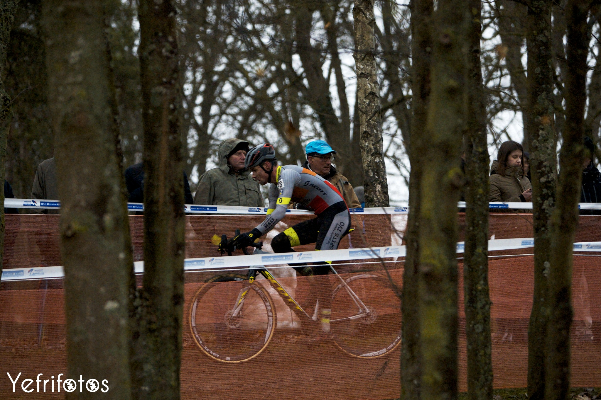 Vincent Baestaens - Coupe de France Cyclocross Jablines