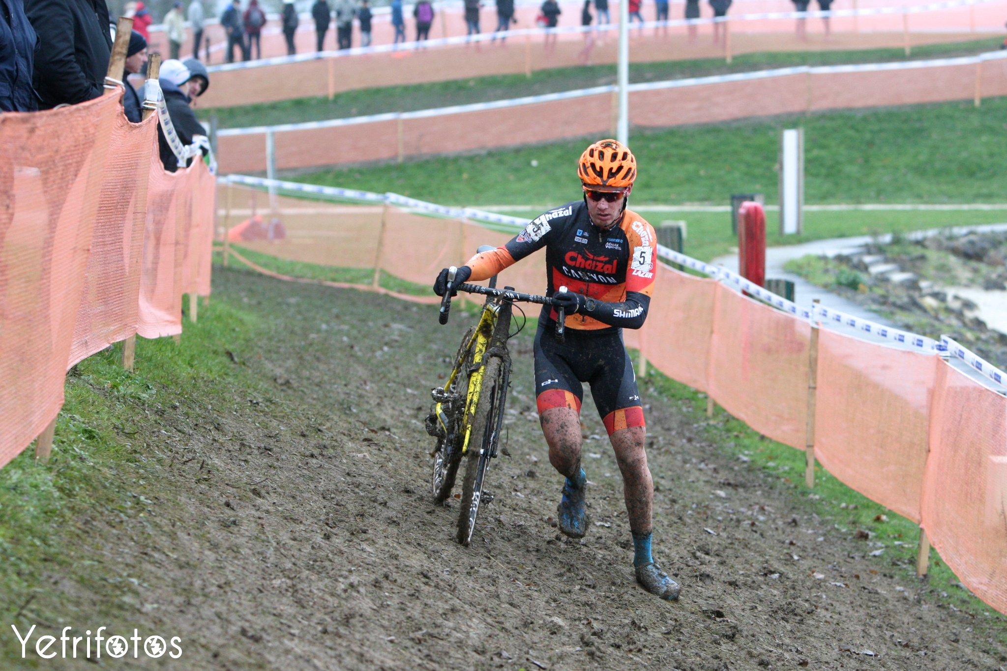 Yann Gras - Team Chazal Canyon - Coupe de France Cyclocross Jablines