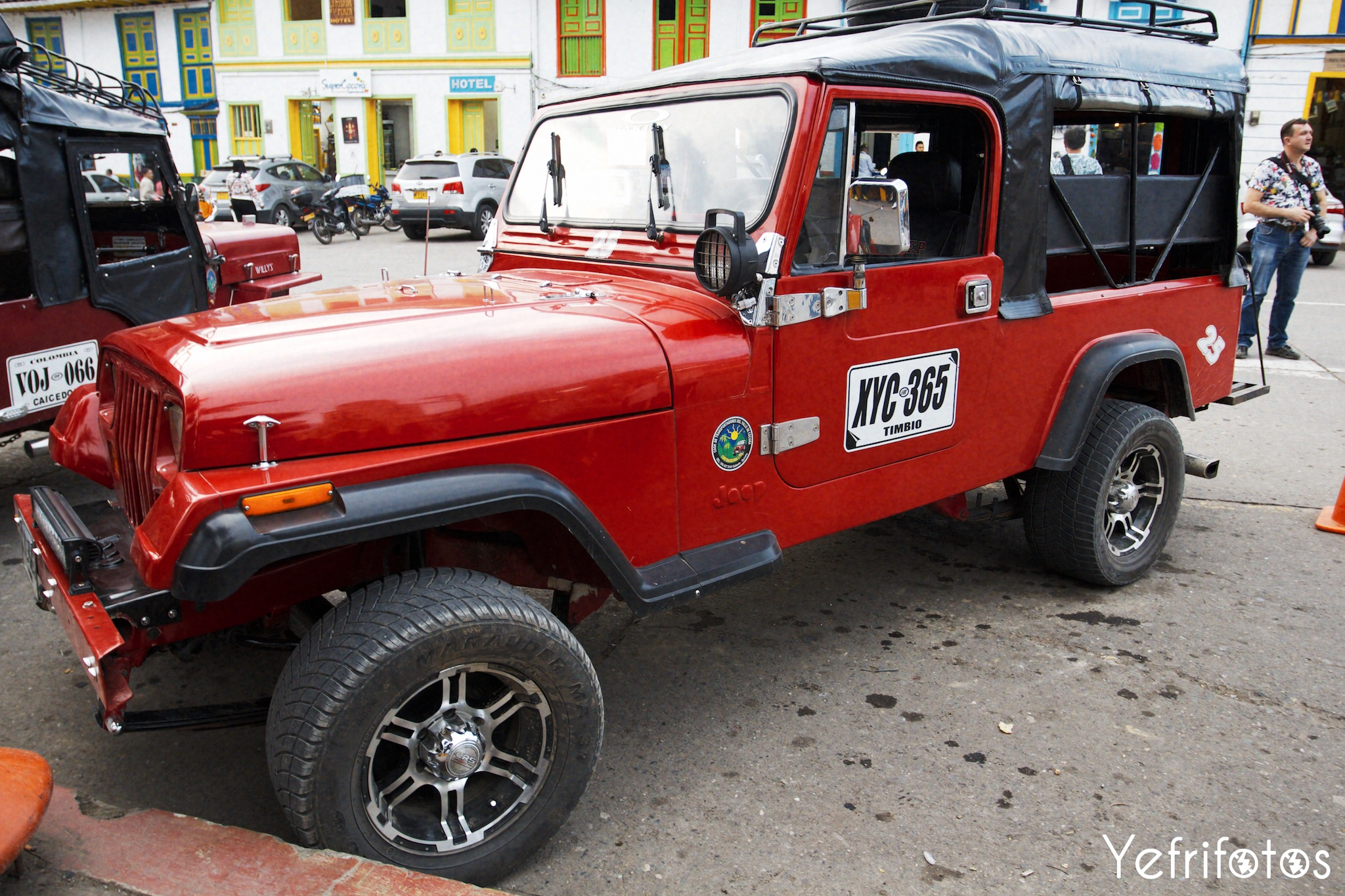 Colombie - Jeep Willys