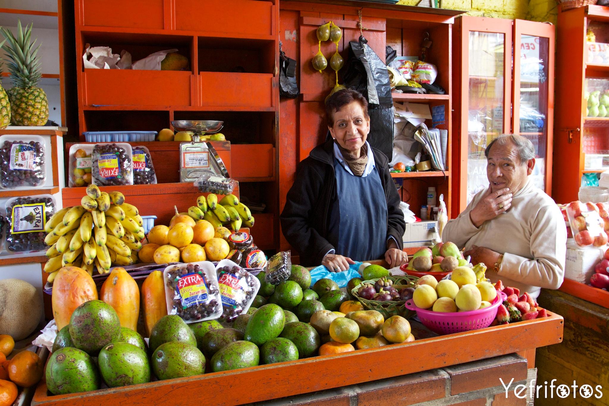 Marché - Colombie - Fruits - Vie