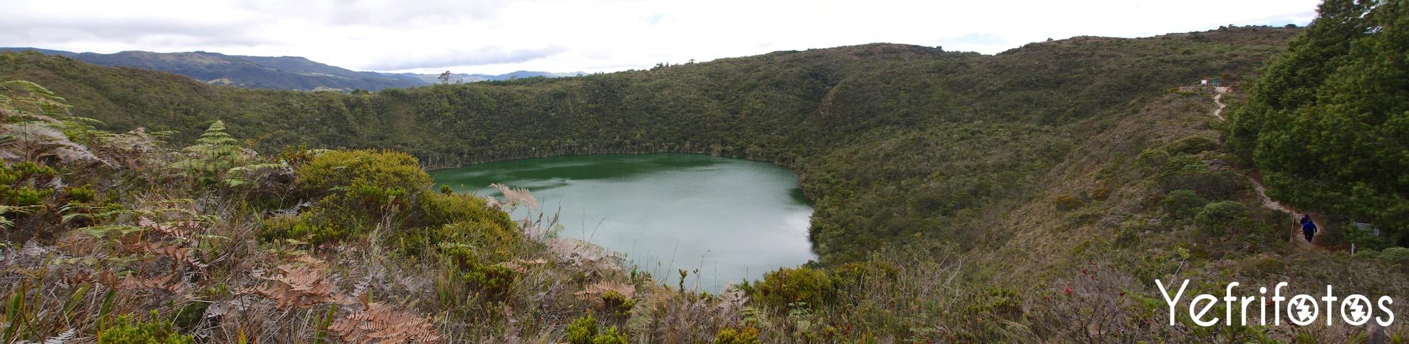 Colombie - Laguna Cacique Guatavita - Cundinamarca