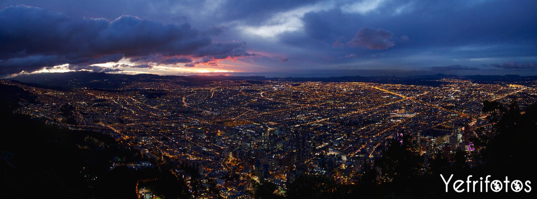 Colombie - Monserrate - Bogota - Panoramica