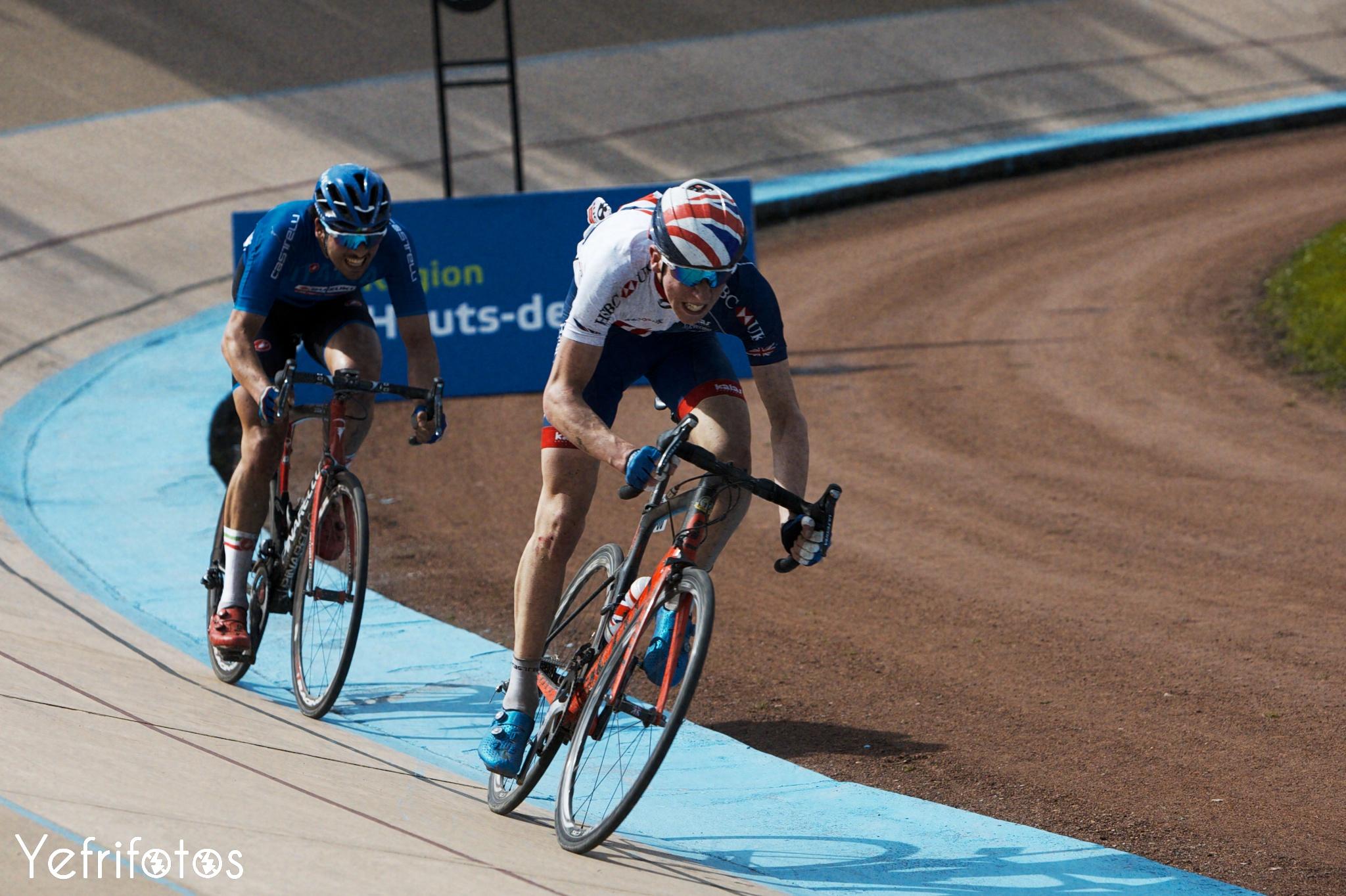 Lewis Askey Vélodrome Paris Roubaix