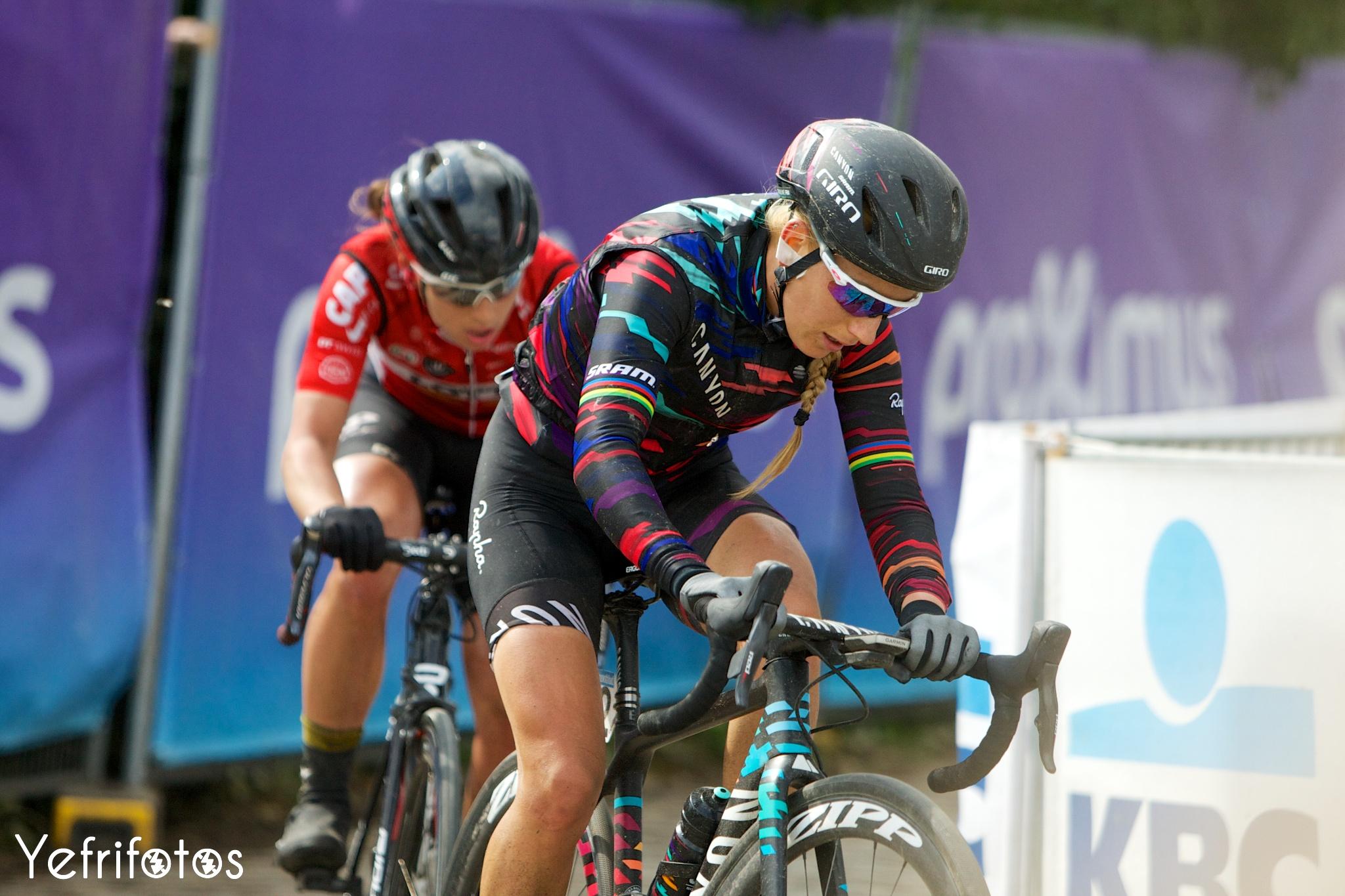 Pauline Ferrand Prevot Tour de Flandres Canyon SRAM
