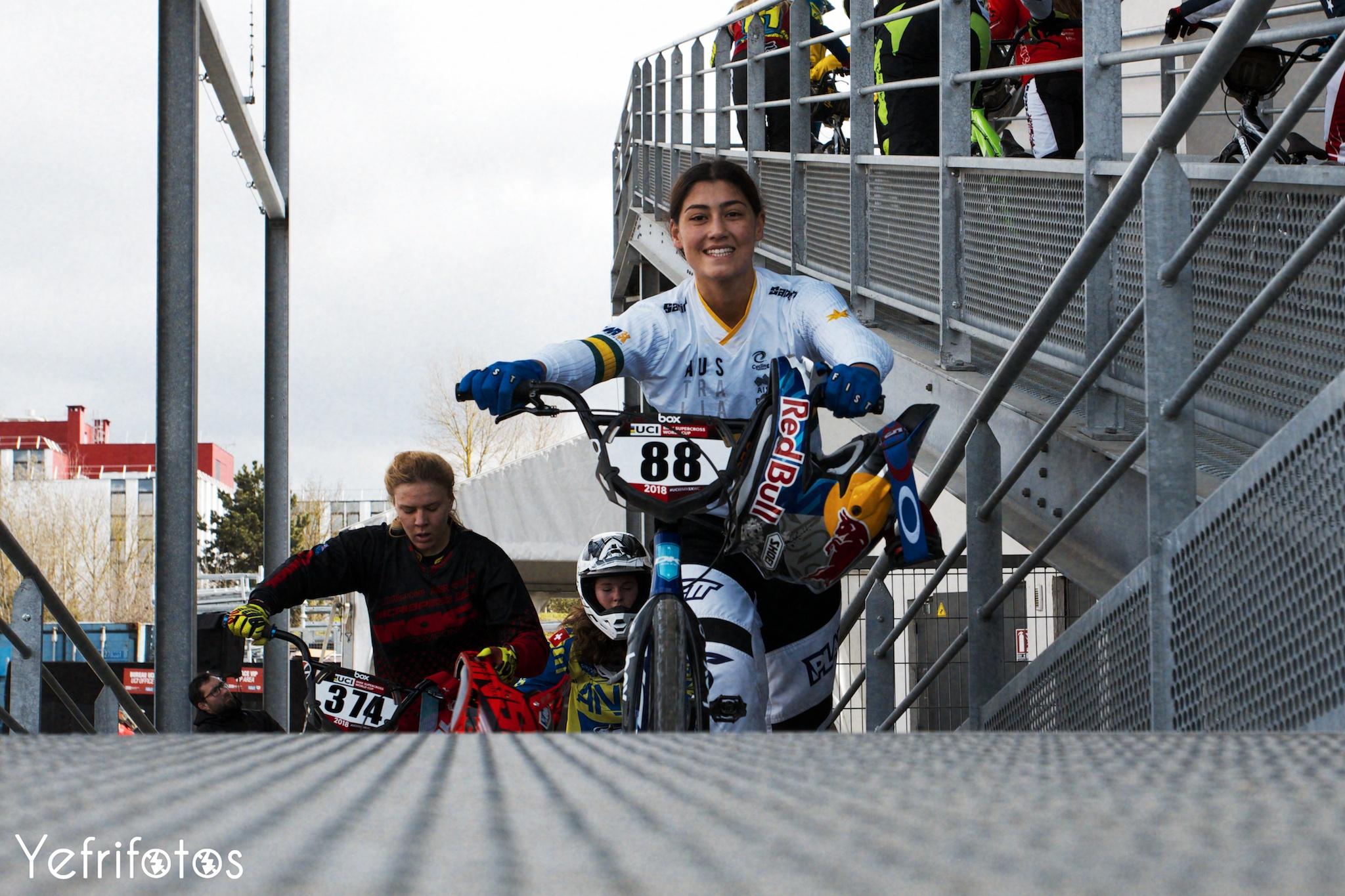 Saya Sakakibara RedBull Australia BMX