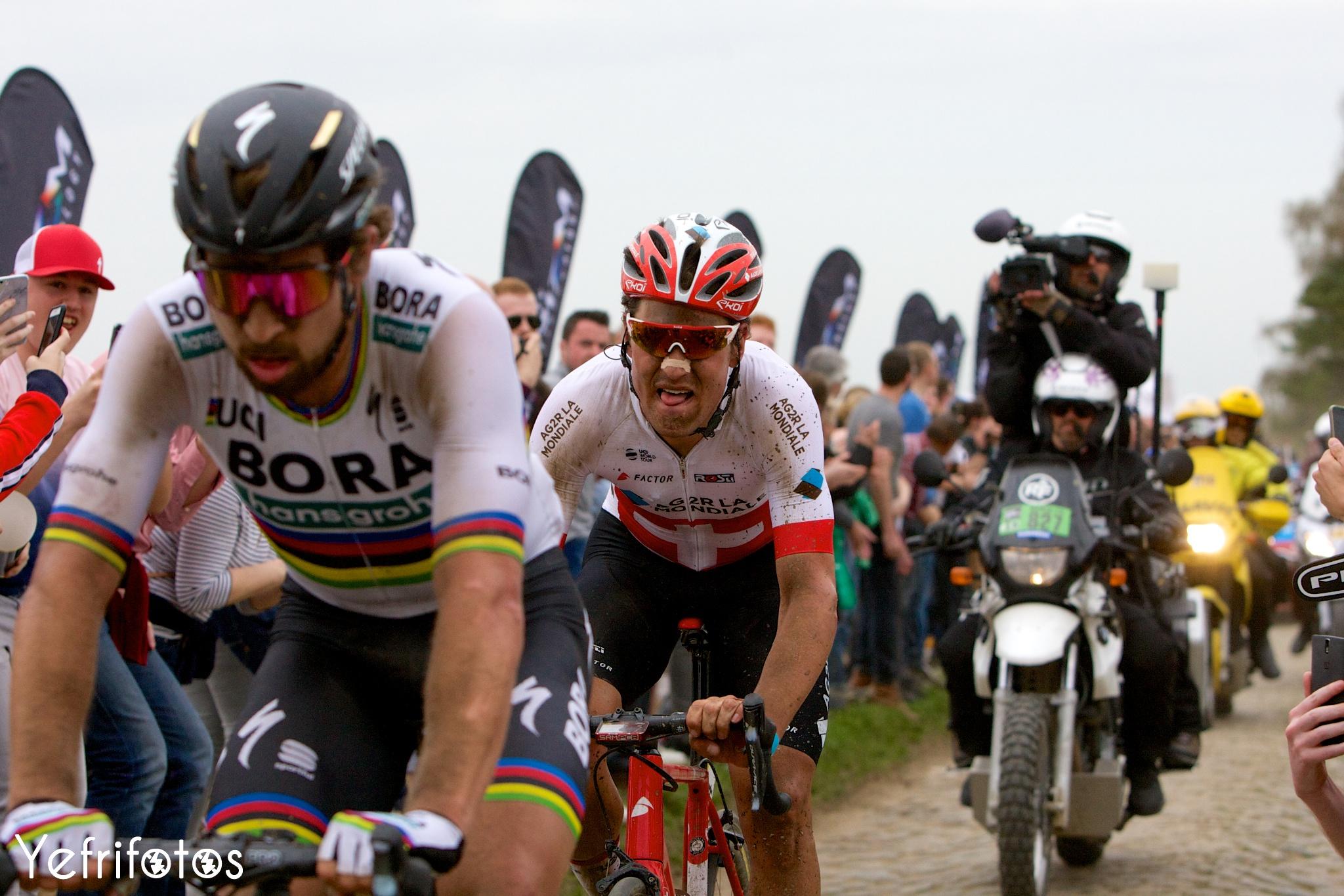 Silvan Dillier AG2R La Mondiale Paris Roubaix