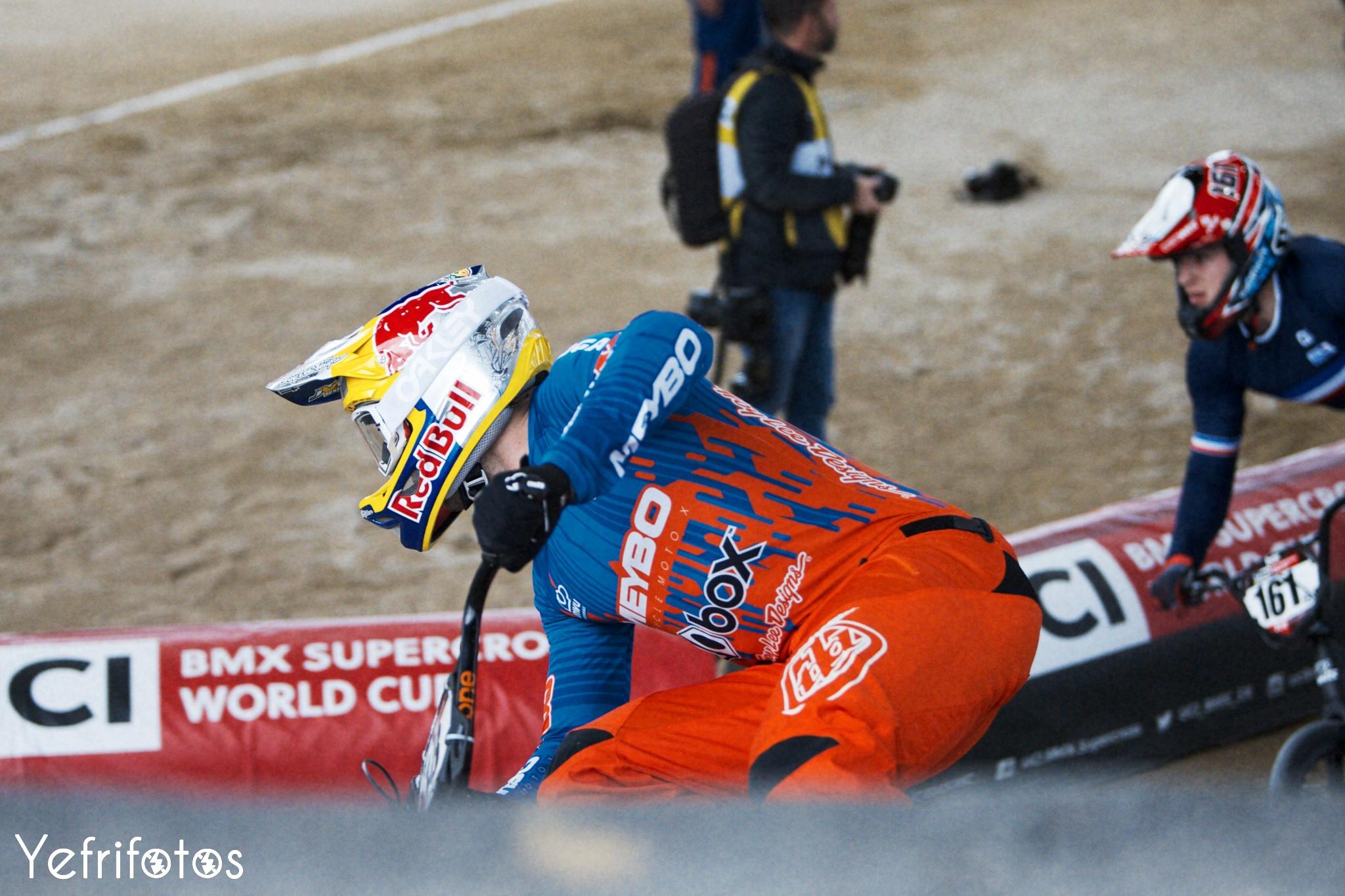 Twan van Gendt BMX World Cup