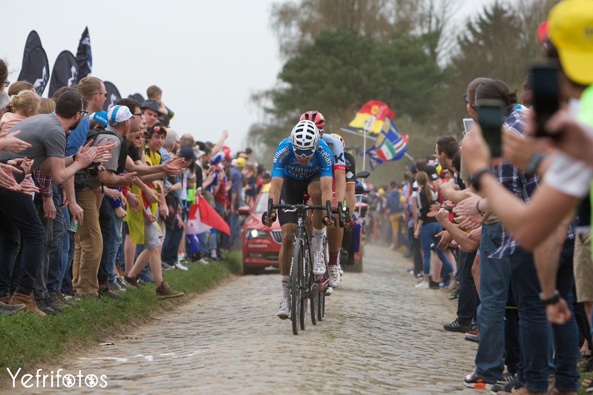 Wout van Aert Paris Roubaix